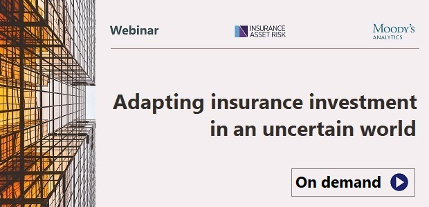 Free webinar - Adapting insurance investment in an uncertain world